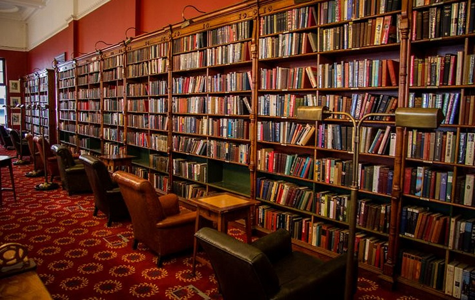 Rand Club Reading Room, Johannesburg