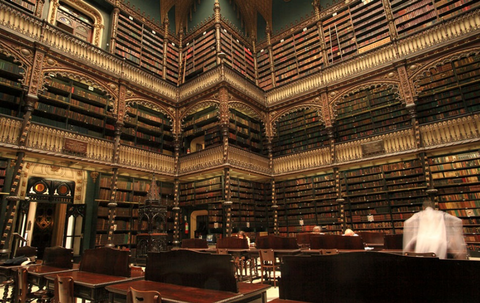 The Royal Portuguese Reading Room, Brazil